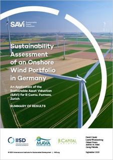 SAVi Sustainable Asset Valuation